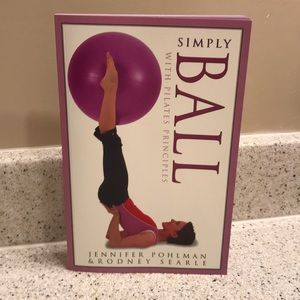 Other - Simply Ball w/ Pilates Principles Book